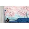 decoration-style-japandi-papier-peint-misaki-mist-rose-bleu