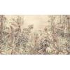 papier-peint-panoramique-peinture-design-jungle-gris
