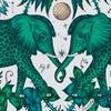 W0121-03-vert-papier-peint-elephant-zambezi-wilderie-clarke-clarke