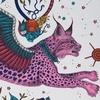 W0118-03-magenta-lynx-papier-peint-clarke-clarke