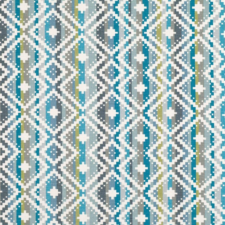 7790-03-takana-bleu-vert-tissu-ameublement-gaphique-rayure