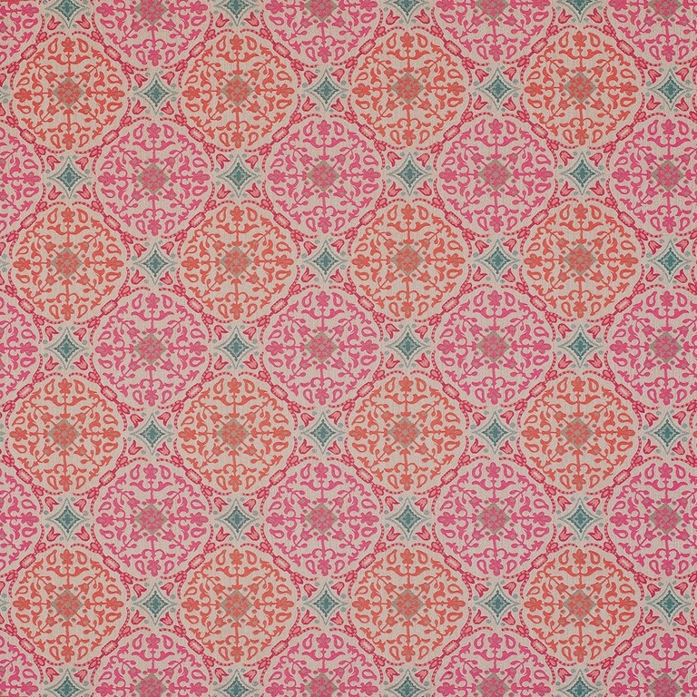 tissu-nina-campbell-large-motif-rond-ethnique-chic