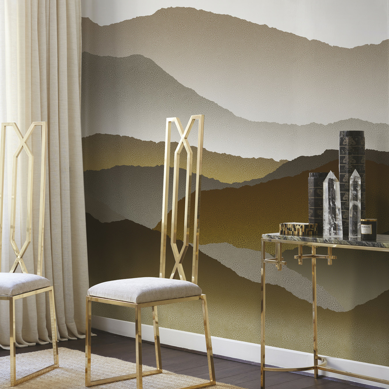 papier-panoramique-montagne-gris-or-image
