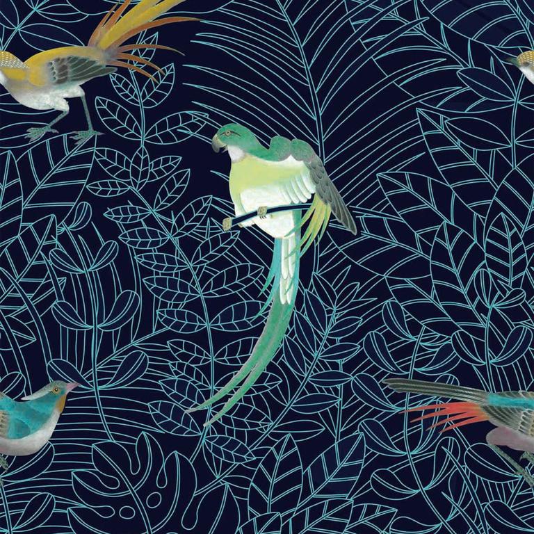 COS143-papier-panoramique-oisaux-tropical