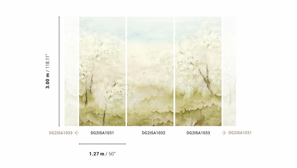 decoration-style-japandi-papier-peint-misaki-mist-jaune-complet
