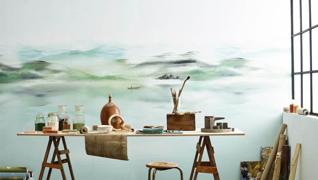 papier-peint(panoramique-peinture-nile