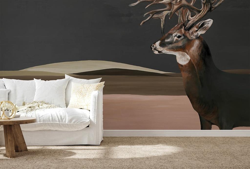 papier-peint-panoramique-cerfs-montagne--9500200