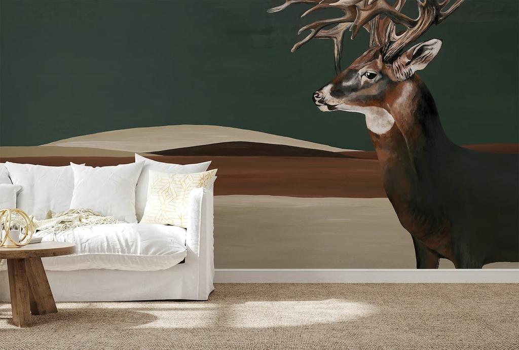 papier-peint-panoramique-cerfs-montagne-9500201