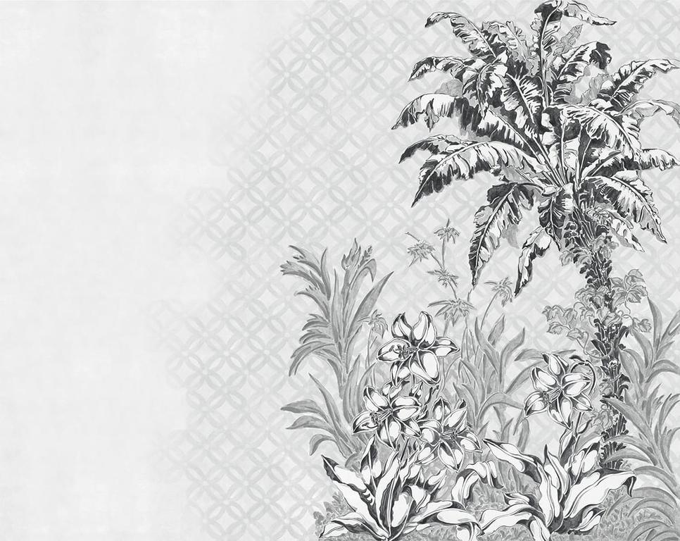 papier-peint jungle-patio-invierno-noir-blanc-YSP0128