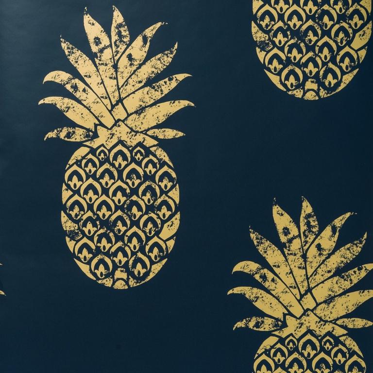 W0086-03-papier-peint-anana_or-dore-bleu-nuit