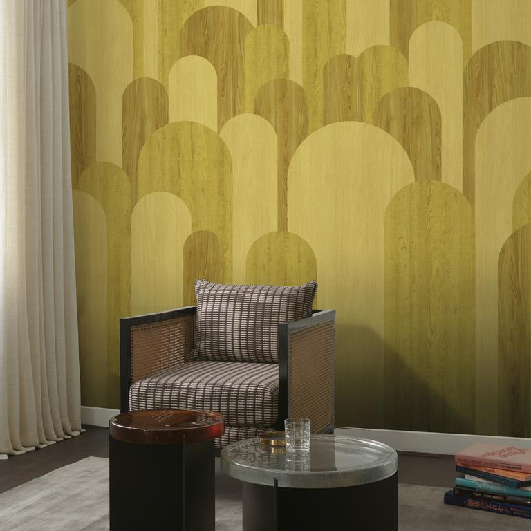 GRD12__2-papier-peint-ponti-nobilis-graphique-bois-jaune
