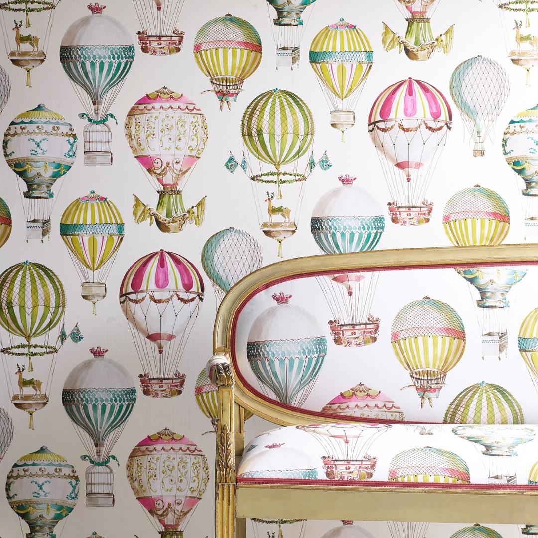 papier-peint-tissu-montgolfiere-canovas-envol