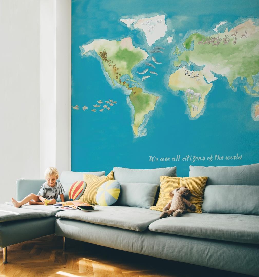 papier-peint-panoramique-map-monde-carte