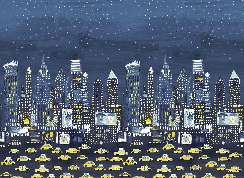 W573-01-nyc-wall-mural-papier-peint-enfant-new-york-bleu-jaine