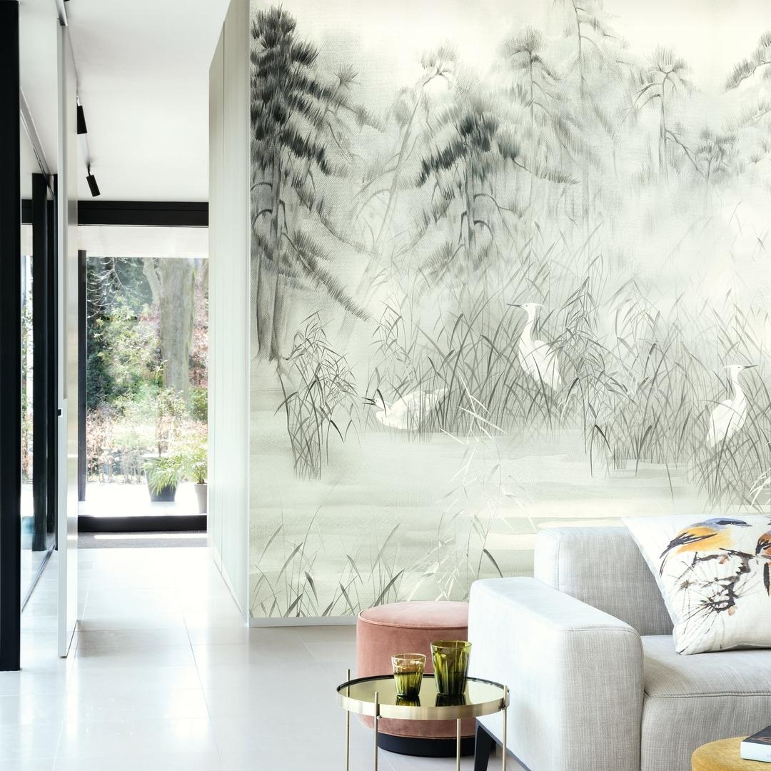 papier-peint-panramique-sisal-gris-blanc-oiseaux-2021