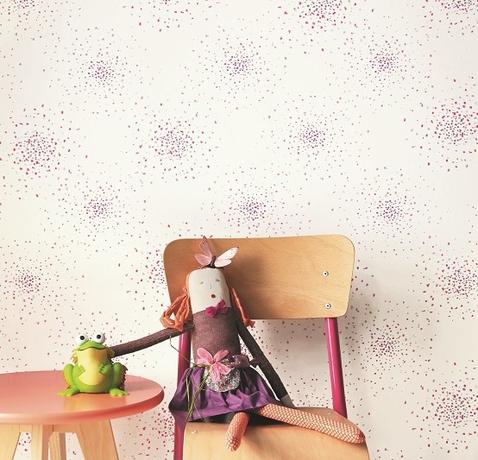 papier-peint-visuel-camengo-summer-camp-billes-rose