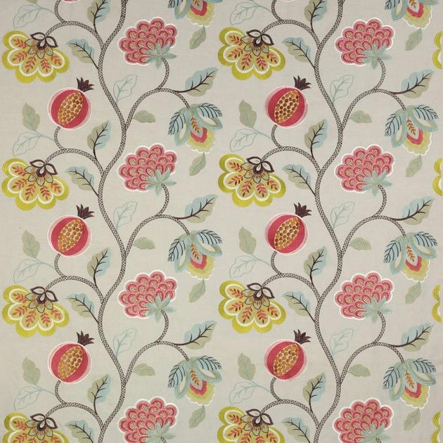 tissu paradise garden tissus par diteur jane churchill le boudoir des etoffes. Black Bedroom Furniture Sets. Home Design Ideas