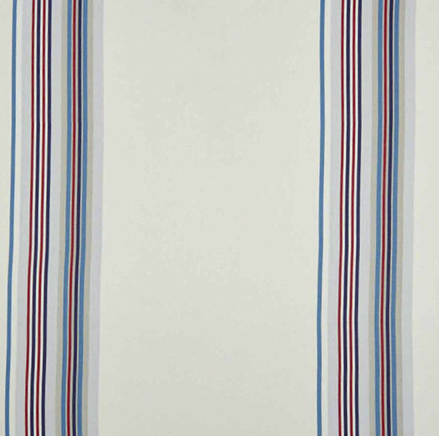 tissu-rayure-chemin-bleu-collection-enfant-summer-camp-camengo