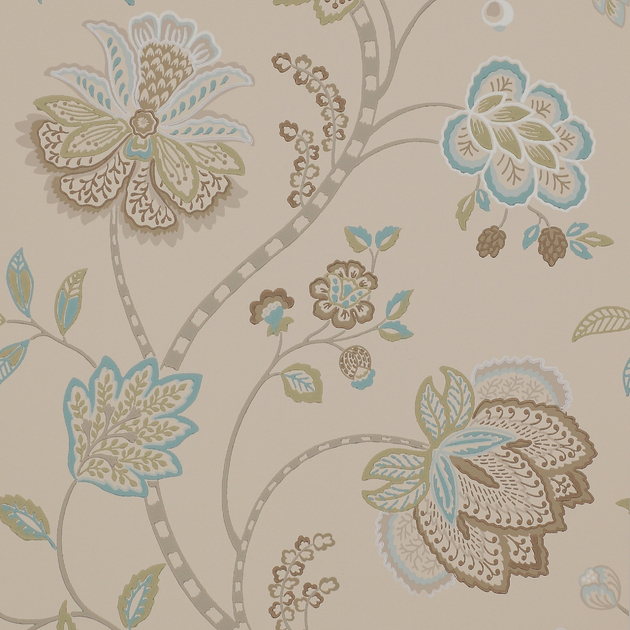 Merveilleux Papier Peint Fleurs Classique Baptista 1