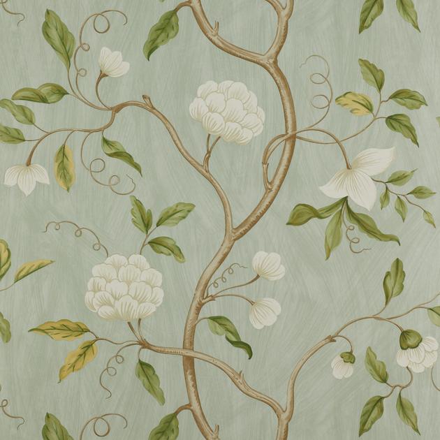 papier-peint-classique-fleurs-snow-tree-4
