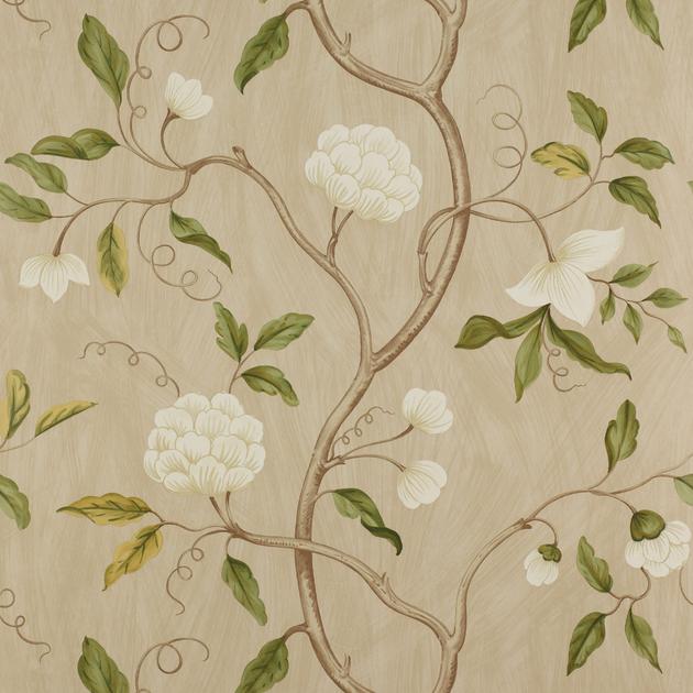 papier-peint-classique-fleurs-snow-tree-5