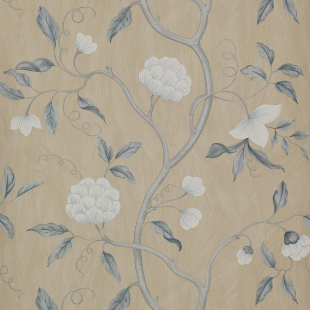 papier-peint-classique-fleurs-snow-tree-9