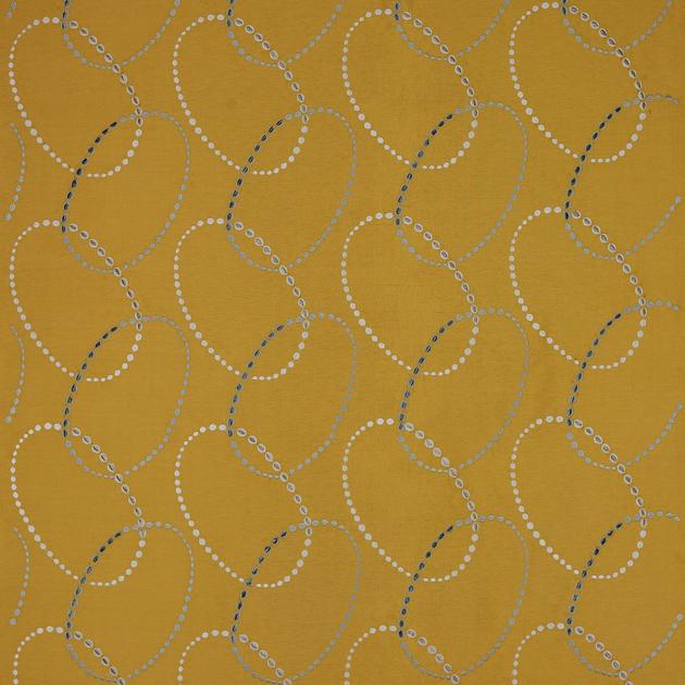 tissu-motif-jane-churchill-opus-or-2