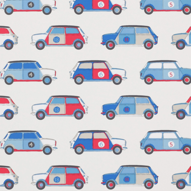 Jane churchill-pop car-blue