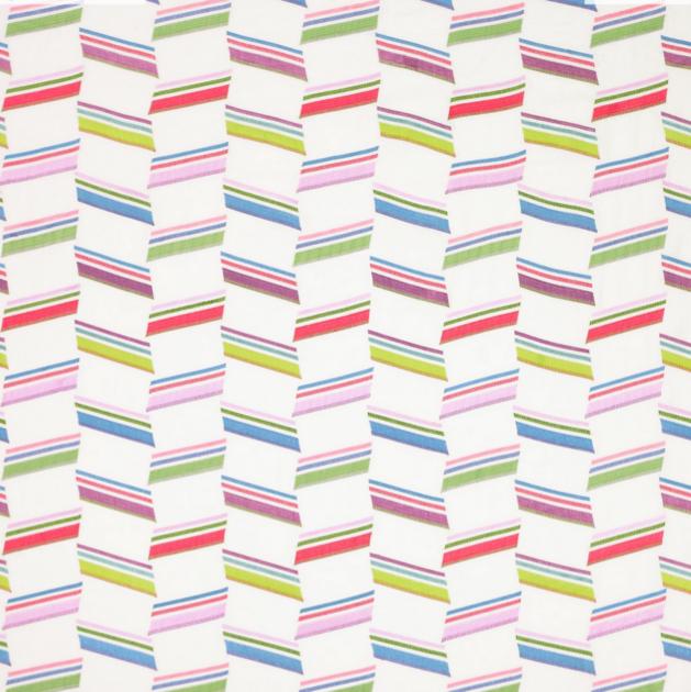 Jane churchill-zodiac stripe-pink