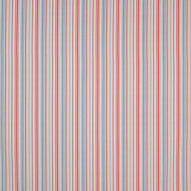 Tissu-jane churchill-zappy stripe-blue.red