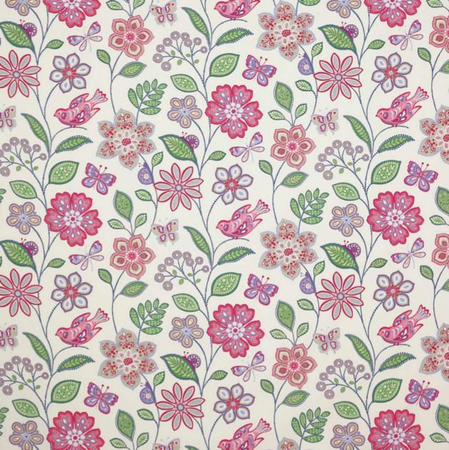 Tissu-janechurchill-flowerpower-pinkgreen