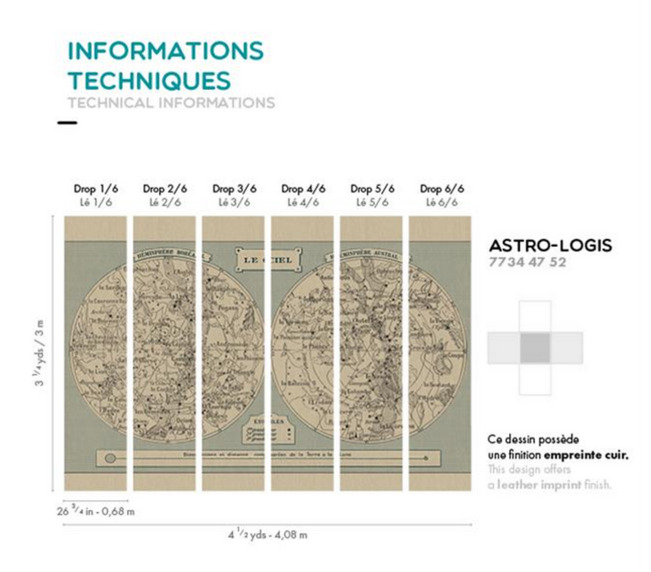 Informations techniques - astro logis