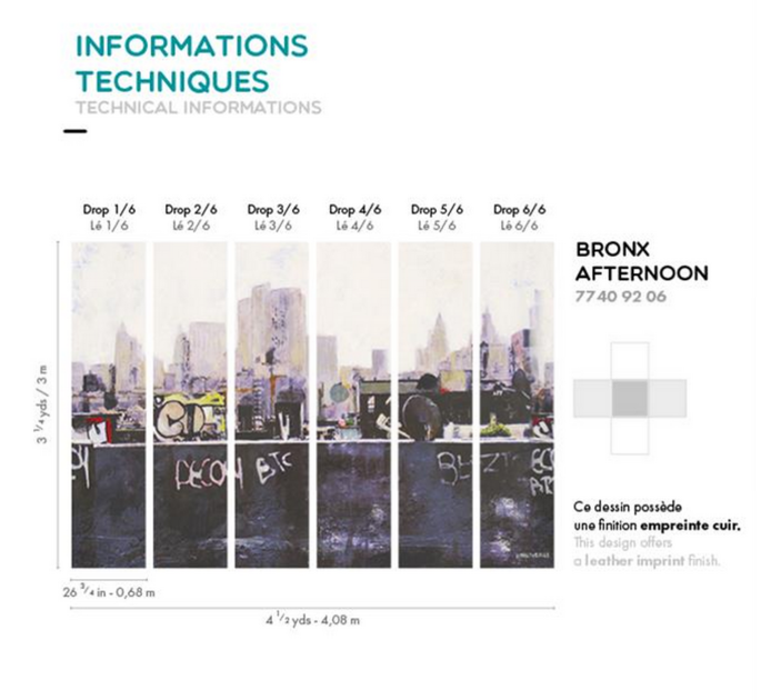 Informations techniques - bronx afternoon