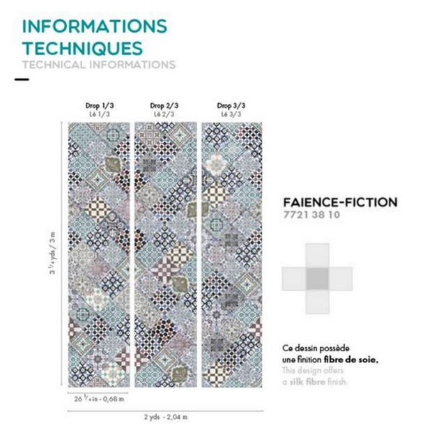 Informations techniques - faience fiction