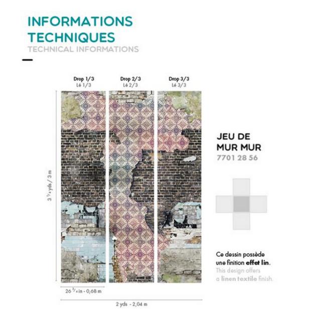 Informations techniques - jeu de mur mur