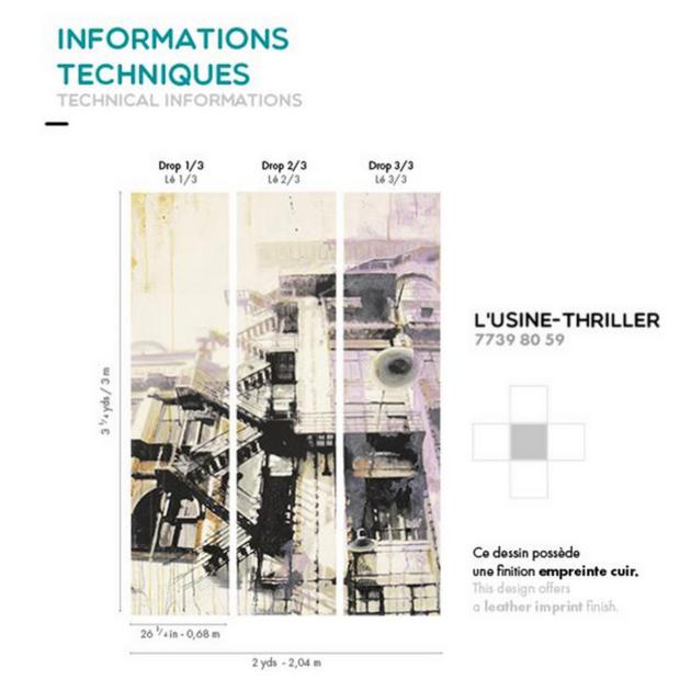 Informations techniques - usine thriller