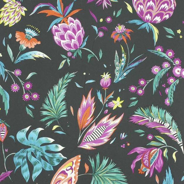 Matthew-Williamson-Cubana-papier-peint-fleurs-Wallpapers-Habanera-W6803-04