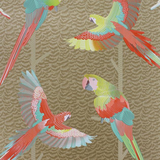 Cubana-papier-pein-perroquets-Arini-W680604