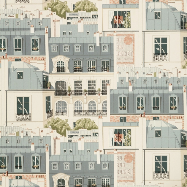 Papier Peint Les Toits De Paris Papiers Peints Par Editeurs Manuel