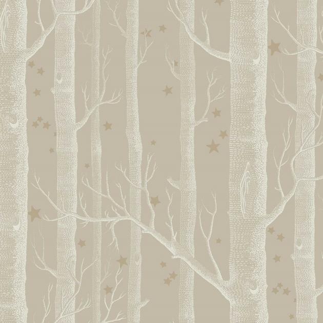 papier-peint-cole-son-arbre-etoile-woods-stars-11047-biscuit-or