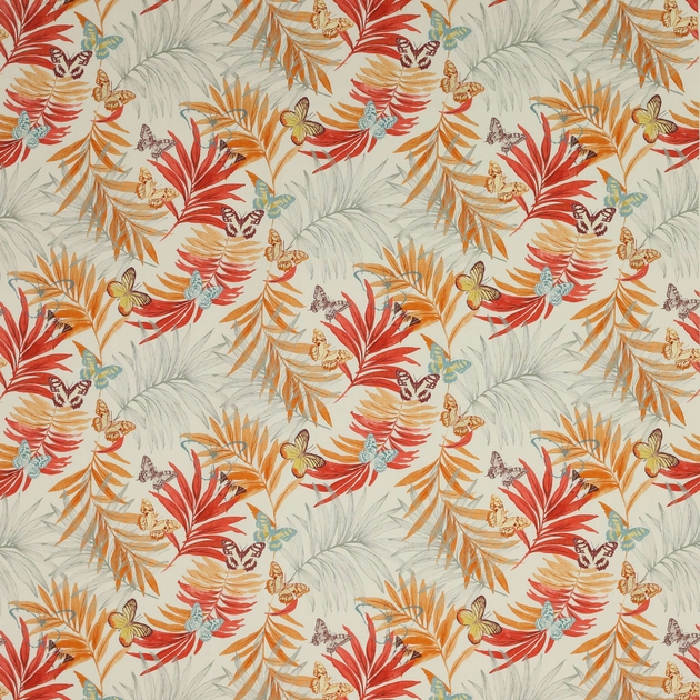 evelyn-tissu-papillon-jane-churchill-orange-rouge