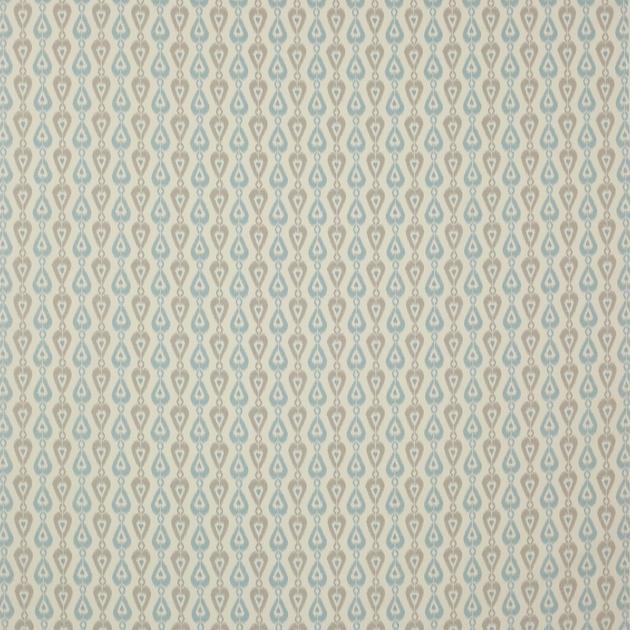 tissu-ameublement-ikat-style-californien-aqua