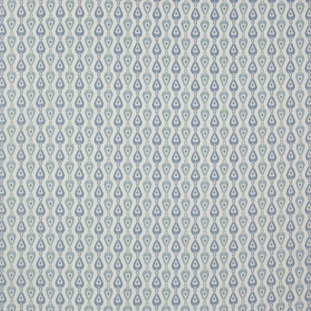 tissu-ameublement-ikat-style-californien-bleu
