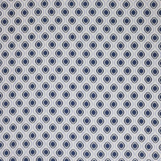 tissu-motif-elegant-jane-churchill-bleu-marine