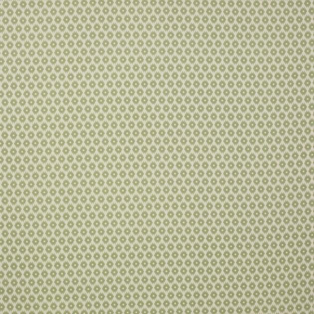 tissu-ameublement-motif-geometrique-ikat-vert