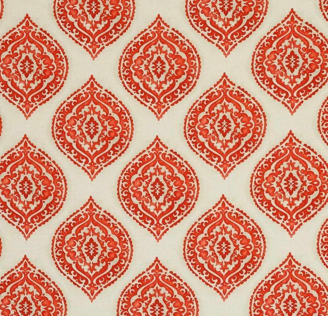 tissu-ameublement-jolie-motif-rouge