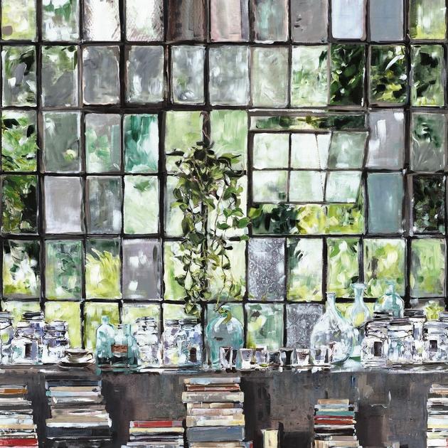 papier peint panoramique loft stories papiers peints par diteurs casamance le boudoir des. Black Bedroom Furniture Sets. Home Design Ideas