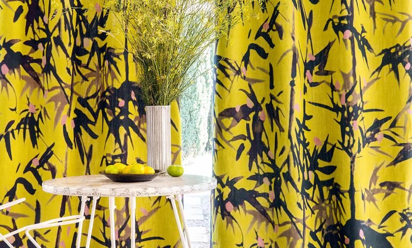 rideaux lin bambou