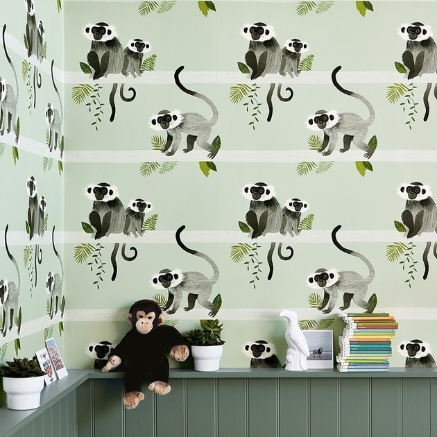 papier-peint-singe-monkey-bars-villa-nova