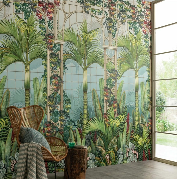 papier-panoramique-tropical-mansfield-park-palm-house-osborne-little-w7452